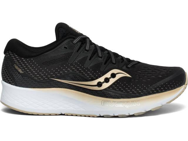 saucony Ride ISO 2 Kengät Naiset, black/gold